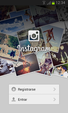 El procés de registre de Instagram