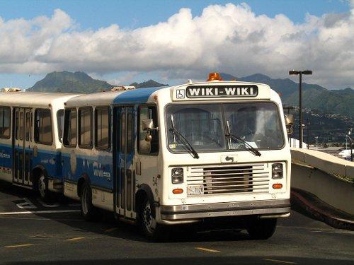 El concepte Wiki ve del mot rapidesa en hawaià