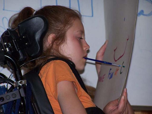 Anna Paint 2. Fotografia de l'usuari Flickr CAMP ASCCA