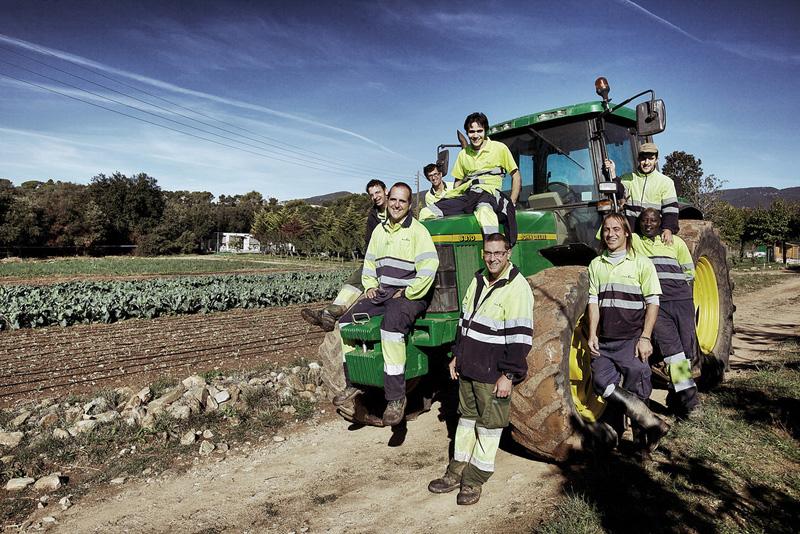 Membres del projecte La Tavella. Font: La Tavella