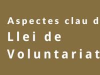 Imatge de la notícia Aspectes clau de la Llei de Voluntariat