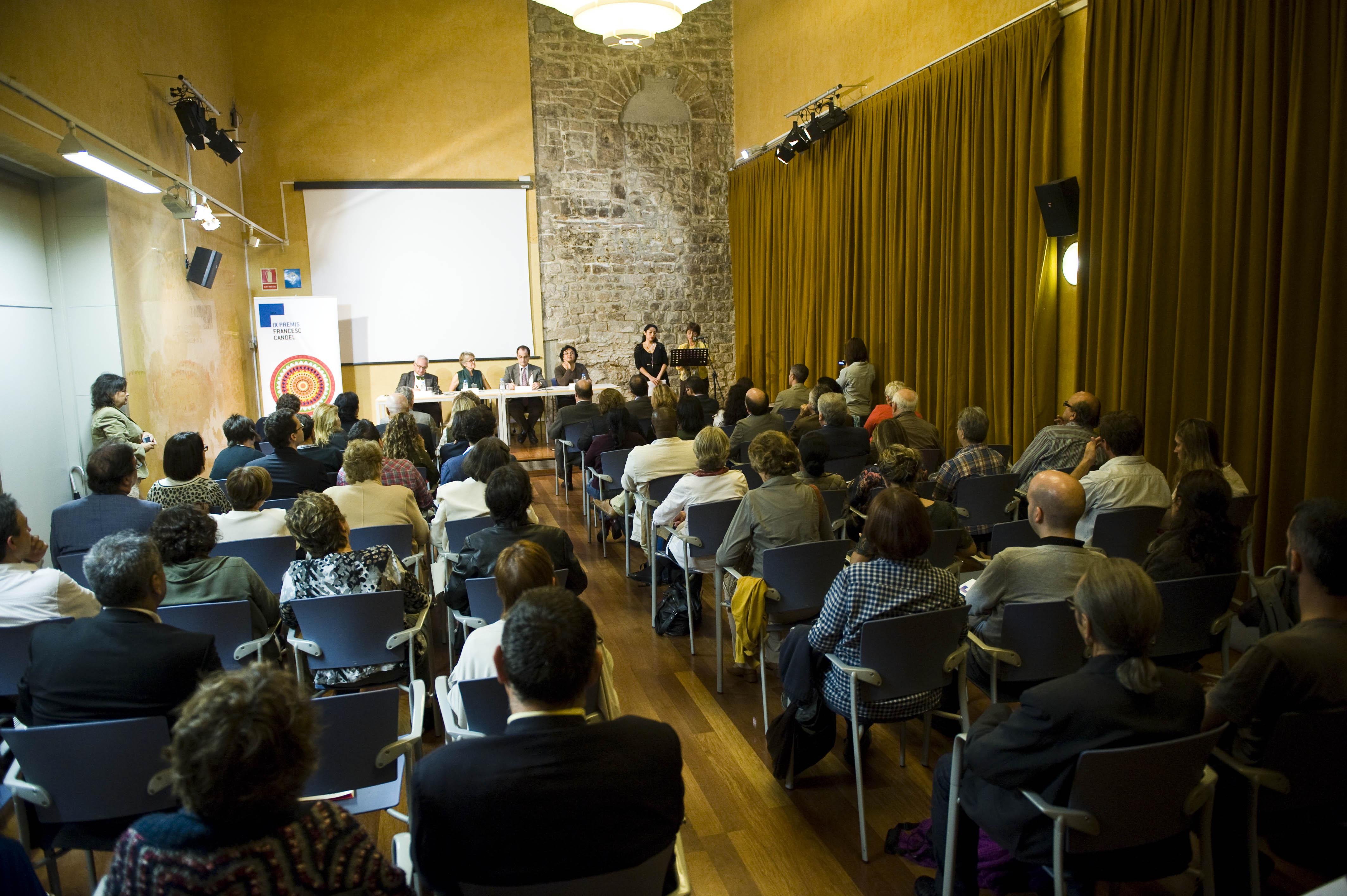 Acte de Lliurament dels Premis Francesc Candel 2012