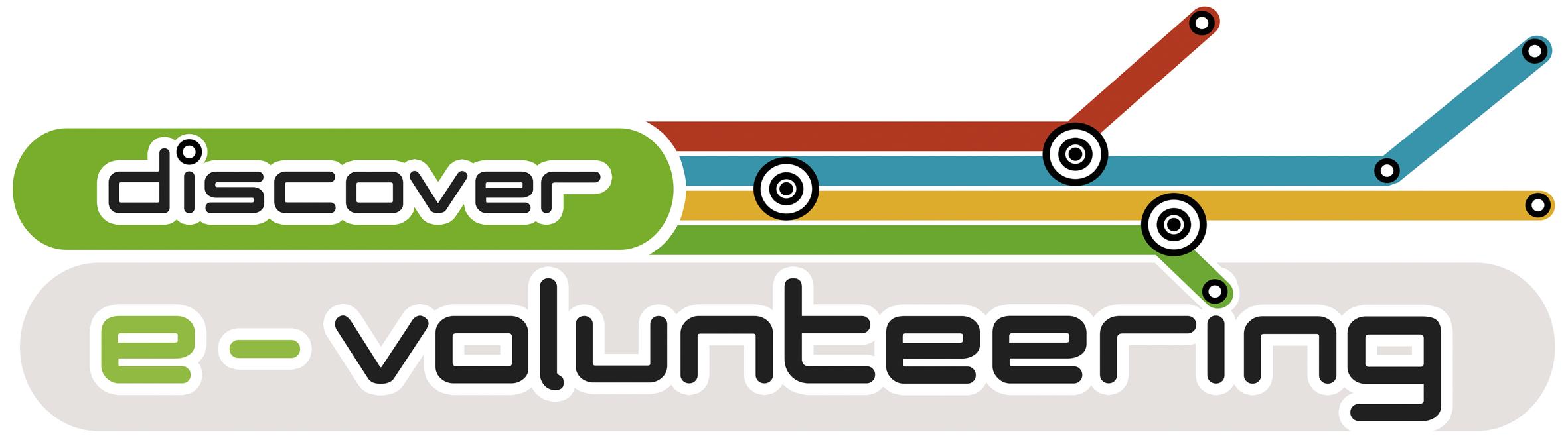 Logo Discover E-Volunteering.