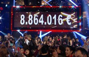 Imatge de la notícia La Marató de Tv3 recapta 8.864.016€ per fer front a les malalties del cor