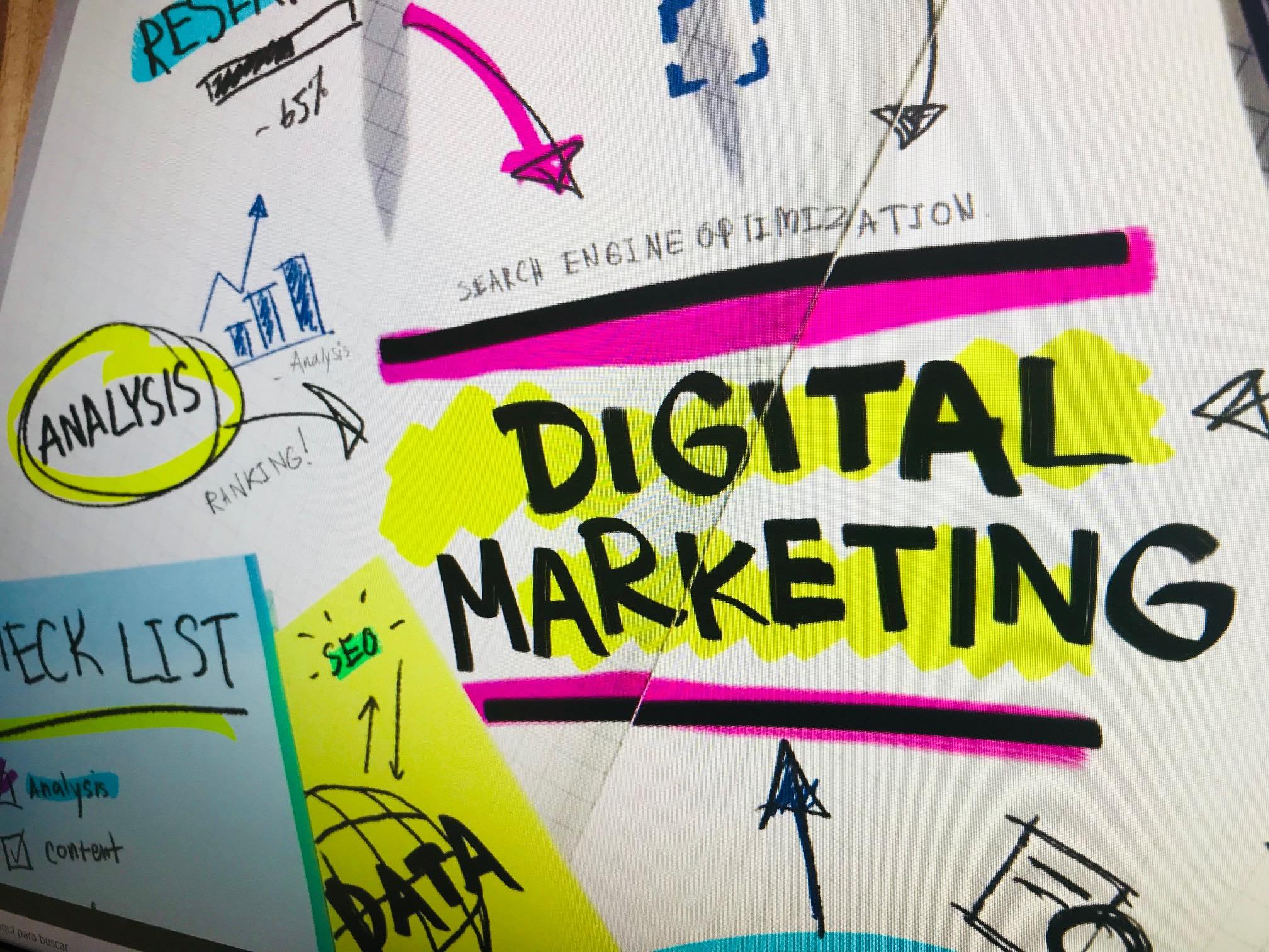 'marketing social' escrit sobre paper