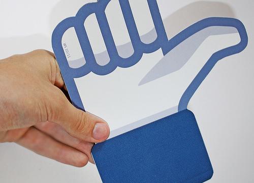 Facebook Fan Pages. Fotografia de Johannes Fuchs (Flickr) Font: