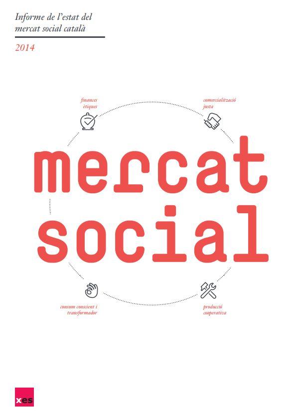 Portada de Informe de l'estat del mercat social català