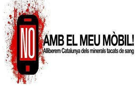 Imatge de la Campanya No amb el meu mòbil!