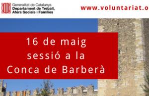 Imatge de la notícia 16 de maig sessió territorial de la DGACC a Montblanc (Conca de Barberà)