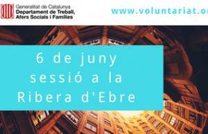 Imatge de la notícia 6 de juny sessió territorial de la DGACC a Móra d'Ebre (Ribera d'Ebre)