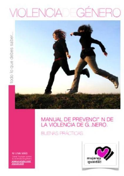 Portada de Manual de prevención contra la violencia de género: buenas prácticas