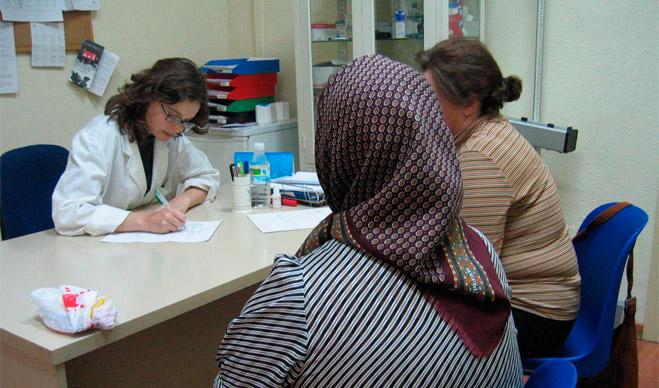 Pacients a una consulta mèdica