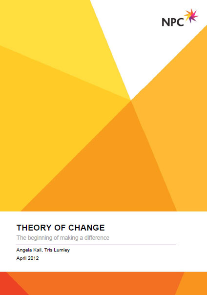 Portada de Theory of change