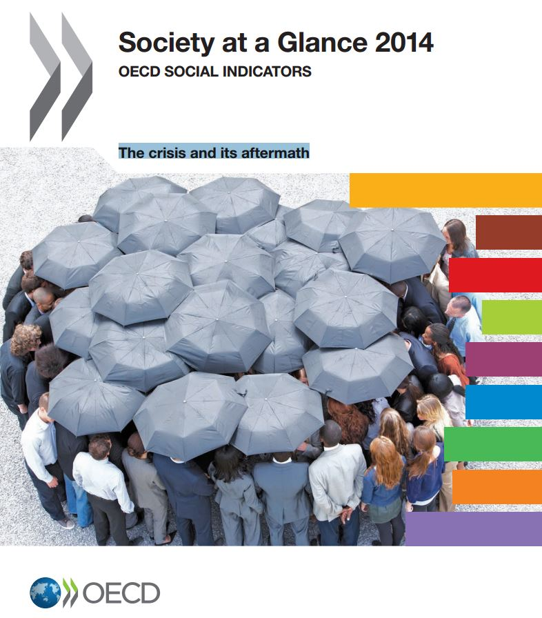 Portada de Society at a Glance 2014: OECD Social Indicators: the crisis and its aftermath