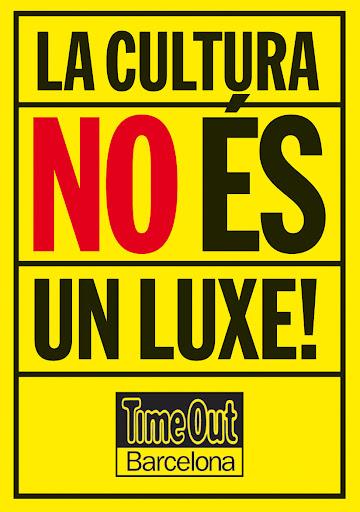 Imatge pancarta amb el lema: