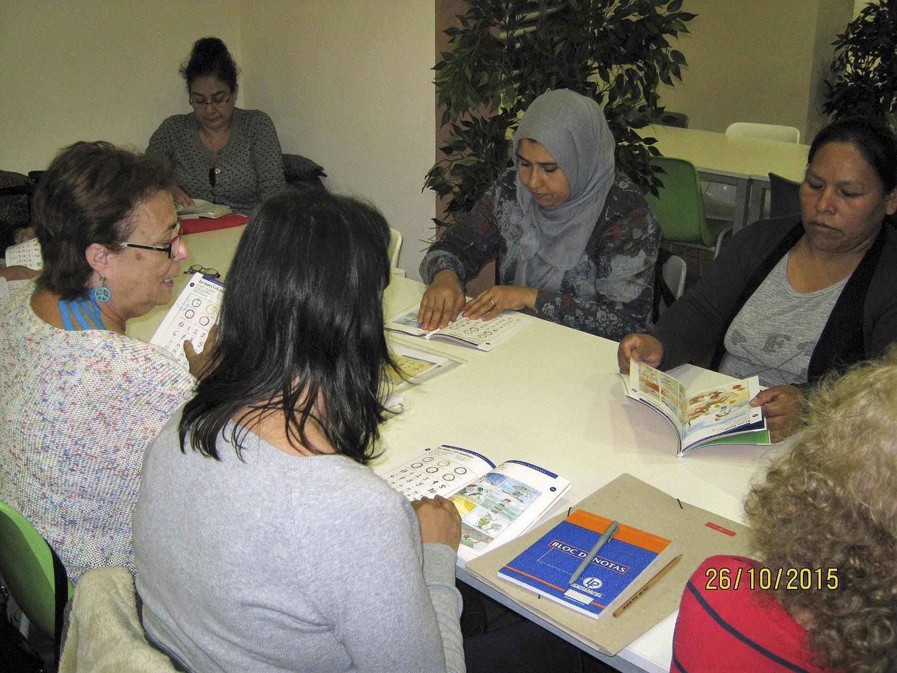 Imagen de d'un programa de capacitación para los adultos de la Fundación Canpedró