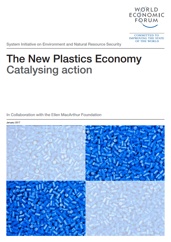 Portada de The New Plastics Economy: Catalysing action