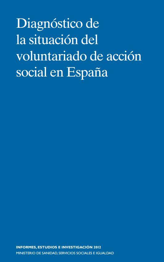 Portada de Diagnóstico de la situación del voluntariado de acción social en España