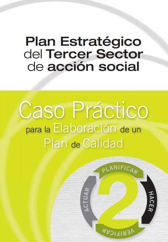 Portada de Caso Práctico para la Elaboración de un Plan de Calidad