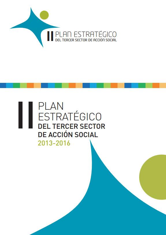 Portada de II Plan Estratégico del Tercer Sector de Acción Social 2013-2016