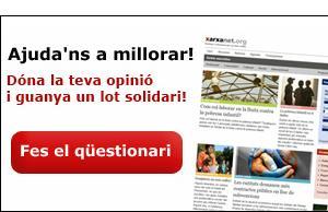 Imatge de la notícia Ajuda'ns a millorar xarxanet.org i guanya un lot   solidari!