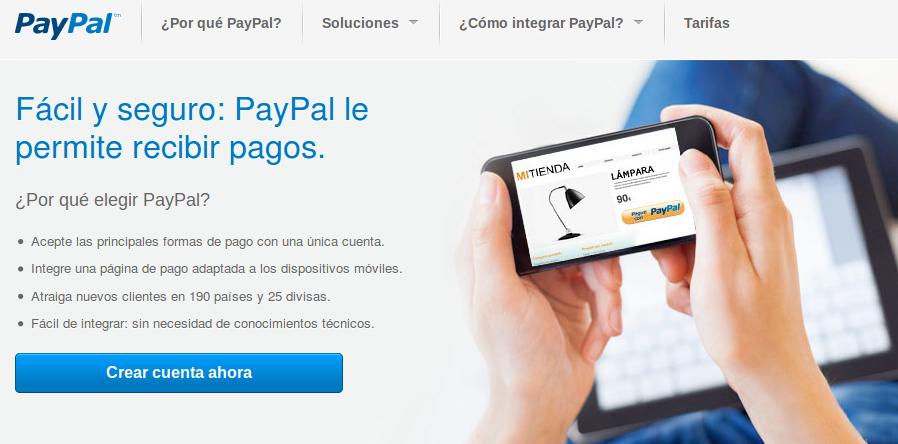 PayPal, un sistema per rebre donacions