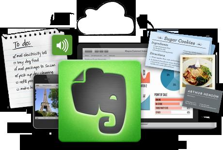 Evernote, una eina realment molt útil per organitzar-se Font:
