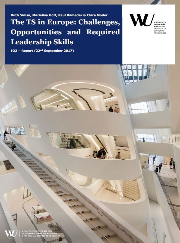 Portada de The Third Sector in Europe: Challenges, Opportunities and Required Leadership Skills