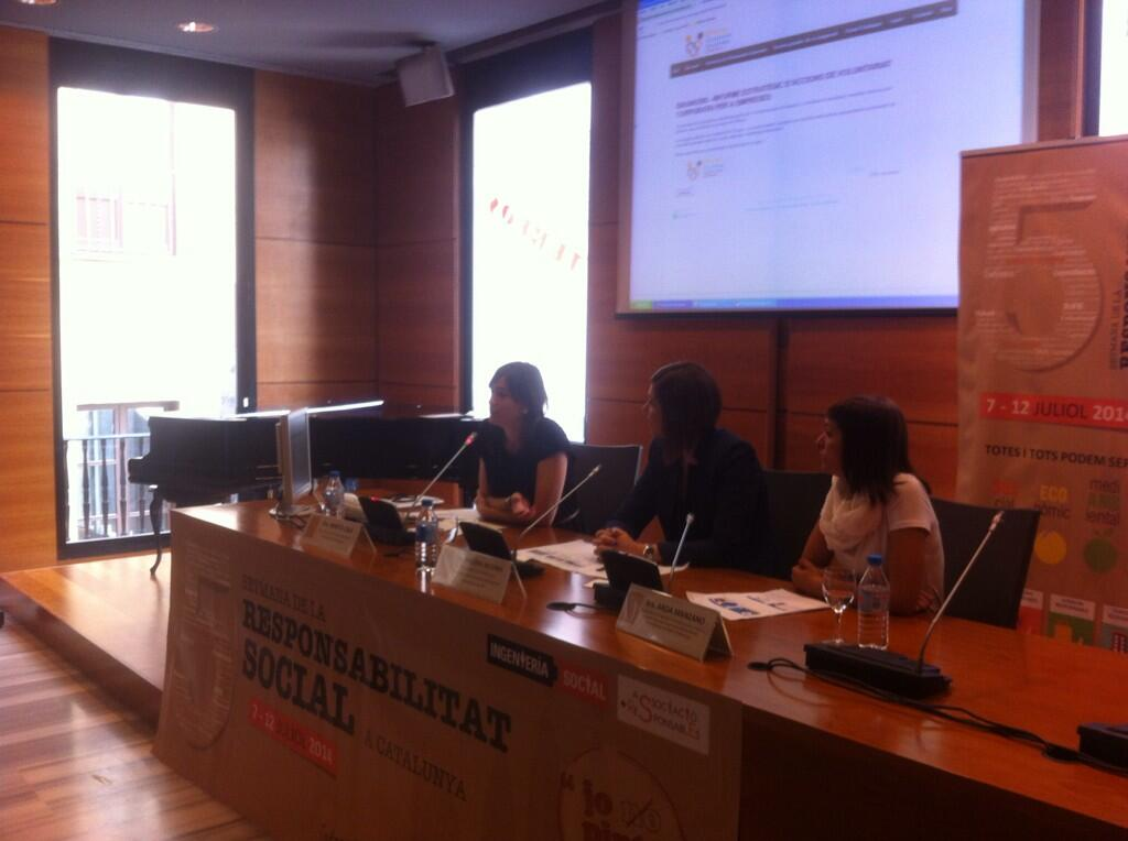 Es presenta l 39 oficina del voluntariat corporatiu de barcelona for Oficina de treball barcelona