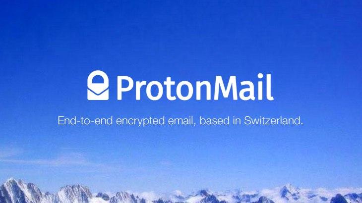 Protonmail és un proveïdor de correu electrònic de xifrat Font: Protonmail