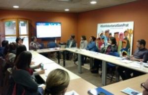Imatge de la notícia Trobada de Punts Locals de Voluntariat al Prat del Llobregat