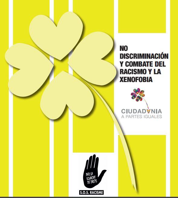 Portada de Guia del antirracismo: No discriminación y combate del racismo y la xenofobia