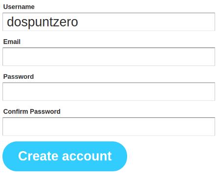 Crear un compte de IFTTT és molt senzill.