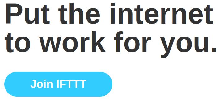 Amb IFTTT, podeu crear receptes per programar Internet