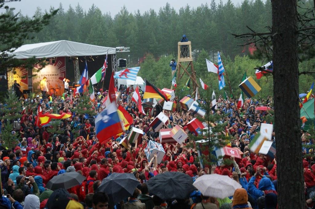 Participants a la Roverway 2012. Foto: Bernat Bossacoma