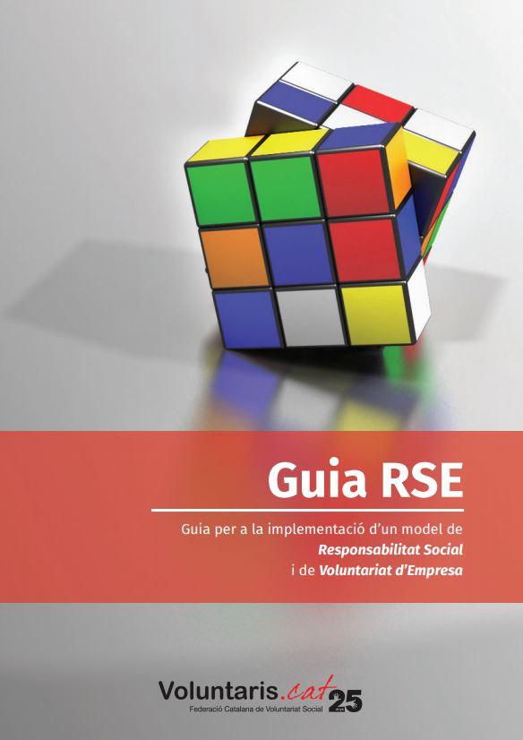 Portada de Guia RSE: guia per a la implementació d'un model de Responsabilitat Social i de Voluntariat d'Empresa