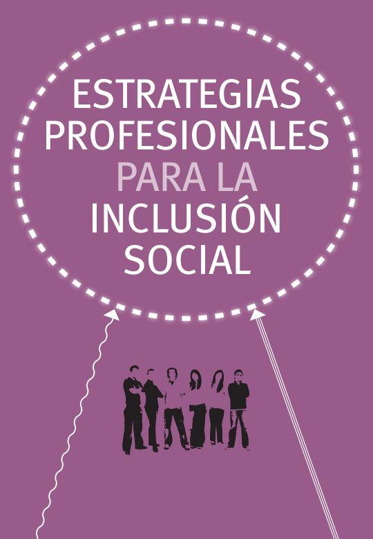 Portada de Estratégias profesionales para la inclusión social