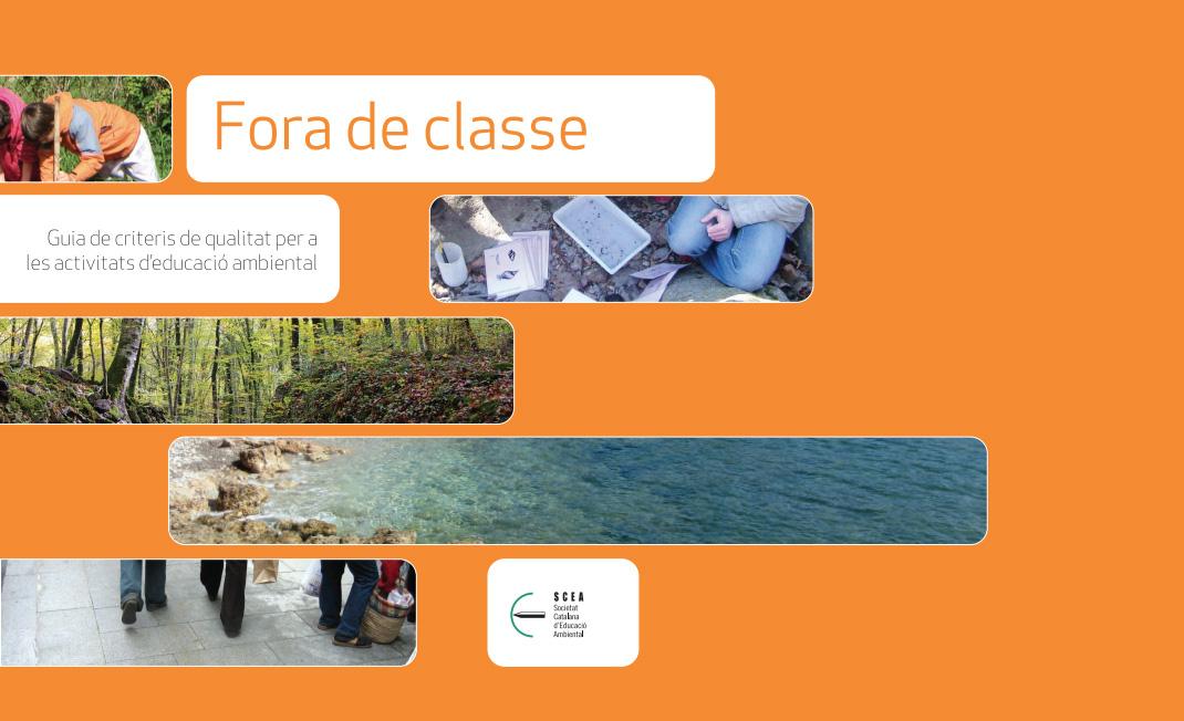 Portada de Fora de classe: guia de criteris de qualitat per a les activitats d