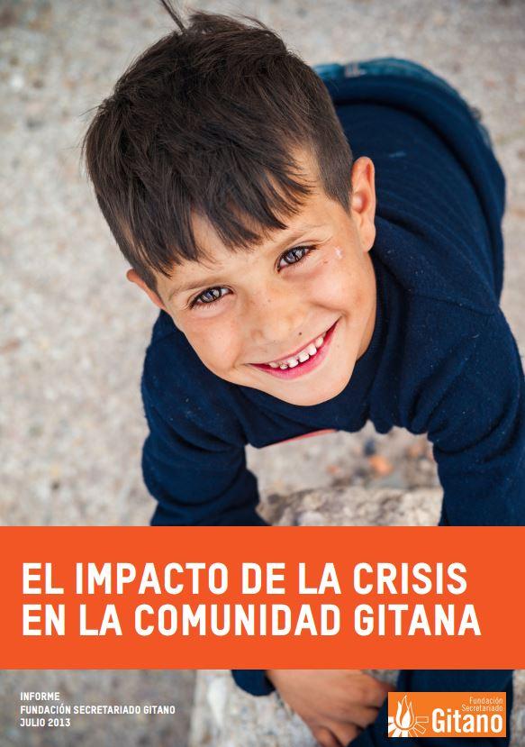 Portada de El impacto de la crisis y las medidas de austeridad en la situación de la comunidad gitana en España