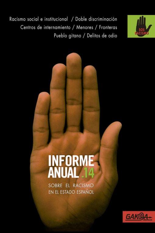Portada de Informe anual 2014 : sobre el racismo en el estado español