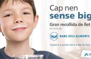 Campanya de recollida de llet