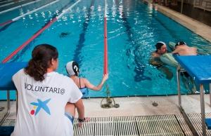 Voluntària en els Jocs Special Olympics 2012 Font: Special Olympics