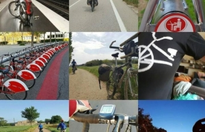 Imatges publicades a les xarxes per participants de la passada  edició dels #30diesenbiciBCN Font: Xavier Sabaté