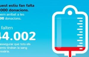 Imatge de la notícia El Banc de Sang busca 50.000 donants aquest estiu