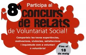 Imatge de la notícia Participa al 8è Concurs de Relats de Voluntariat Social a Girona i Tarragona