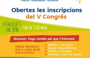 Imatge de la notícia Ja estan obertes les inscripcions per assistir al V Congrés del Tercer Sector Social
