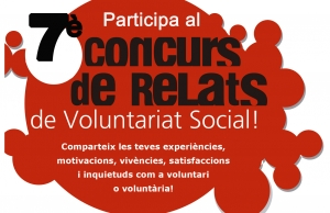 Participa al 7è Concurs de Relats de Voluntariat Social