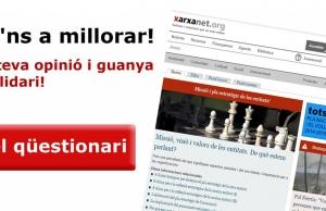 Imatge de la notícia Ajuda'ns a millorar xarxanet.org i guanya una panera solidària!