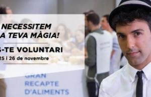 Imatge de la notícia Vols ser voluntari/a del Gran Recapte?