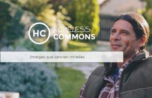 Banner del portal Homeless Commons. Font: Arrels Fundació